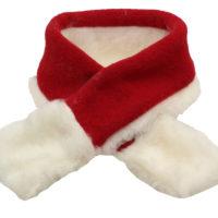 Julhalsduk till hund