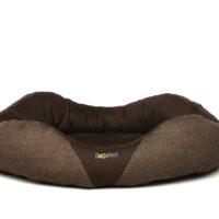 Beco miljövänlig hundbädd brun